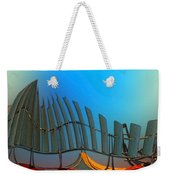 Da Vinci's Outpost Weekender Tote Bag by Wendy J St Christopher