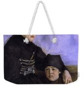 Dachau Woman And Child Weekender Tote Bag