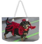 Dachshund Lobster Weekender Tote Bag