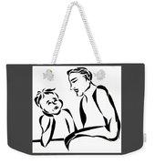 Dad And Son Weekender Tote Bag