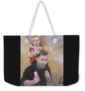 Daddy Ride Weekender Tote Bag