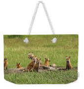 Daddy's Foxy Daycare Weekender Tote Bag