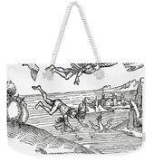 Daedalus And Icarus Weekender Tote Bag