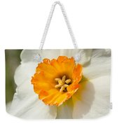 Daffodil Narcissus Flower Weekender Tote Bag