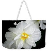 Daffodil Diagonal Weekender Tote Bag