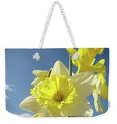 Daffodil Flowers Artwork Floral Photography Spring Flower Art Prints Weekender Tote Bag