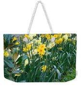 Daffodil Garden Weekender Tote Bag