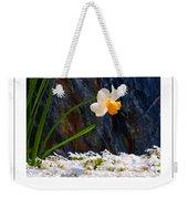 Daffodil Poster Weekender Tote Bag