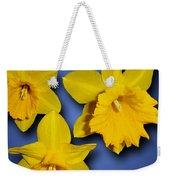 Daffodil Trio Weekender Tote Bag