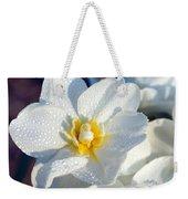 Daffodil Up Close Weekender Tote Bag