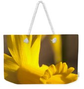 Daffodil Yellow Weekender Tote Bag