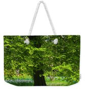 Daffodils And Narcissus Under Tree Weekender Tote Bag