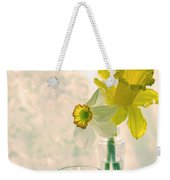 Daffodils And The Candle V3 Weekender Tote Bag