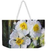 Daffodils In My Garden Weekender Tote Bag