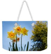 Daffodils In The Sky Weekender Tote Bag