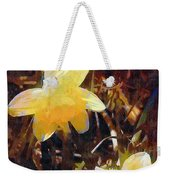 Daffs Gone Goth Weekender Tote Bag