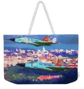 Daggers Over Madison In Oil Weekender Tote Bag