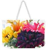 Dahlia Bouquet Weekender Tote Bag