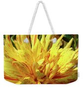 Dahlia Flower Art Collection Giclee Prints Baslee Troutman Weekender Tote Bag