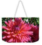 Dahlia Flowers Garden Art Prints Baslee Troutman Weekender Tote Bag