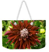 Dahlia In Bloom 18 Weekender Tote Bag