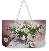 Dahlia Vase  Weekender Tote Bag