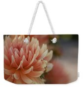 Dahlias Season Weekender Tote Bag