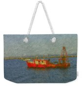 Daily Catch Weekender Tote Bag