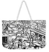 Daily Life: France, 1517 Weekender Tote Bag
