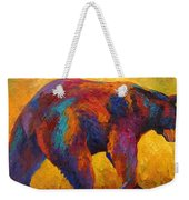 Daily Rounds - Black Bear Weekender Tote Bag