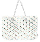 Dainty Leaves Weekender Tote Bag by Jocelyn Friis