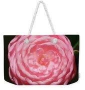 Dainty Pink Camellia Weekender Tote Bag