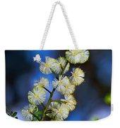 Dainty Wildflowers On Blue Bokeh By Kaye Menner Weekender Tote Bag