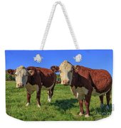 Cattle Andover New Hampshire Weekender Tote Bag