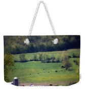 Dairy Farm In The Finger Lakes Weekender Tote Bag