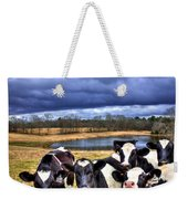 Dairy Heifer Groupies Future Chick-fil-a Starrs Weekender Tote Bag
