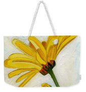Daises From The Past Weekender Tote Bag