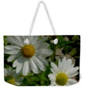 Daisies By The Number Weekender Tote Bag