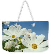 Daisies Flowers Art Prints White Daisy Flower Gardens Weekender Tote Bag
