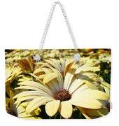 Daisies Flowers Landscape Art Prints Daisy Floral Baslee Troutman Weekender Tote Bag