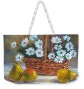 Daisies In Basket Weekender Tote Bag