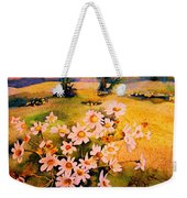 Daisies In The Sun Weekender Tote Bag