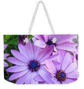 Daisies Lavender Purple Daisy Flowers Baslee Troutman Weekender Tote Bag