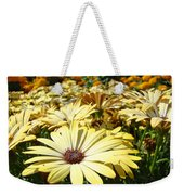 Daisies Yellow Daisy Flowers Garden Art Prints Baslee Troutman Weekender Tote Bag
