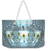 Daisy Abstract Weekender Tote Bag