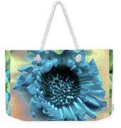 Daisy Blue Frame Weekender Tote Bag