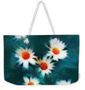 Daisy Blue Weekender Tote Bag
