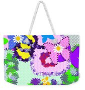 Daisy Callico Weekender Tote Bag