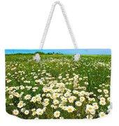 Daisy Field Weekender Tote Bag