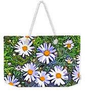 Daisy Flower Garden Abstract Weekender Tote Bag